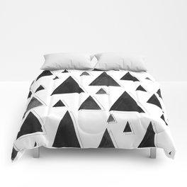 Modern Christmas Trees | Holiday Minimalism Comforters
