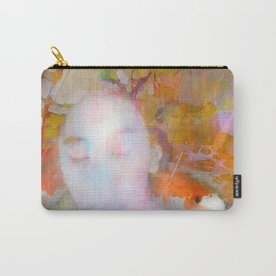 Sleeping with fish Carry-All Pouch