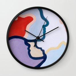 More Alike than We Think Wall Clock