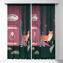 Sorcerer Of Woodland Charms Potions Spells And Fortunes Blackout Curtain
