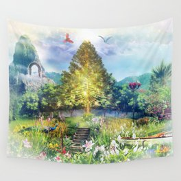 The Heart of The Forest Wall Tapestry