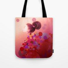 Pink○●◎ Tote Bag