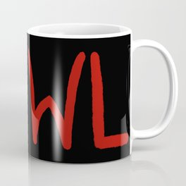 V Howler - black Coffee Mug