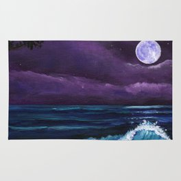 Romantic Kauai Moonlight Rug