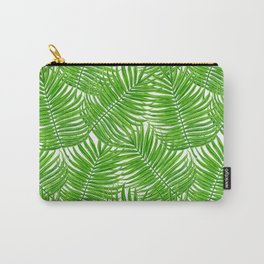 Palm leaves watercolor II Carry-All Pouch
