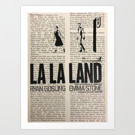 La La Land 1 Art Print