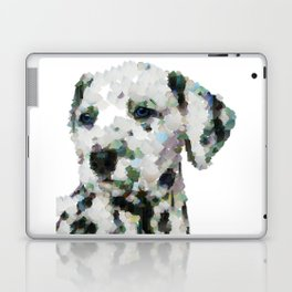 Dalmatian  puppy portrait discover Art Print Laptop & iPad Skin