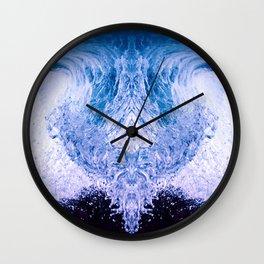 flips and drops Wall Clock
