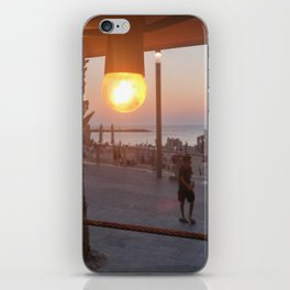 sun illusion iPhone Skin