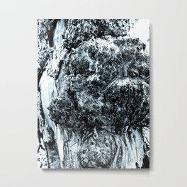 Stump Bump Metal Print