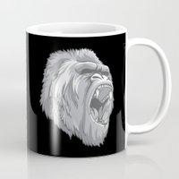gorilla Mugs featuring Gorilla by Taranta Babu