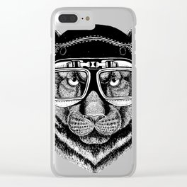 Phanter Speed Rebel Clear iPhone Case