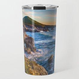 Soberanes Point Sunset, Big Sur Travel Mug