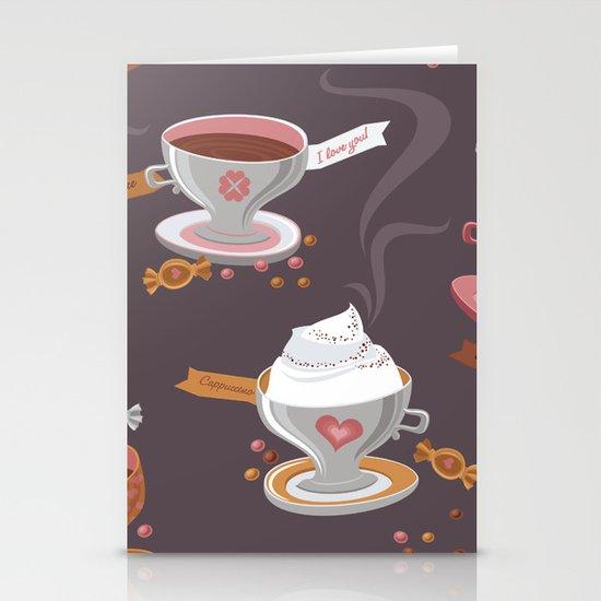 Fresh Coffee Stationery Cards