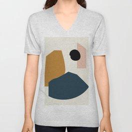 Shape study #1 - Lola Collection Unisex V-Neck
