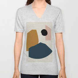 Shape study #1 - Lola Collection Unisex V-Neck