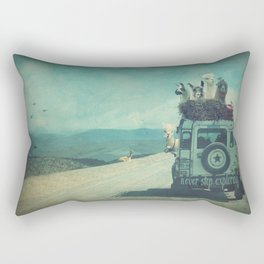 NEVER STOP EXPLORING II SOUTH AMERICA Rectangular Pillow