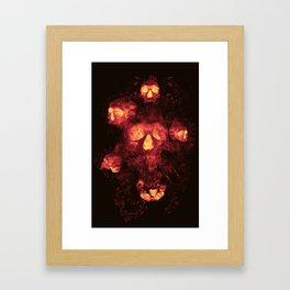 Dante Collapse Framed Art Print