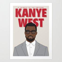 Tribute to Mr West Art Print