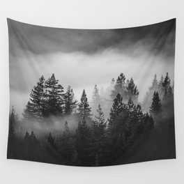 Forest of Fog Wall Tapestry