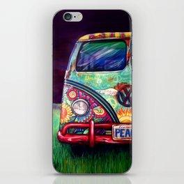 Peacemobile- by Kerian Babbitt Massey iPhone Skin