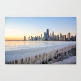 Iced Out Sunrise Canvas Print