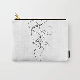 Tender Kiss ( on white ) Carry-All Pouch