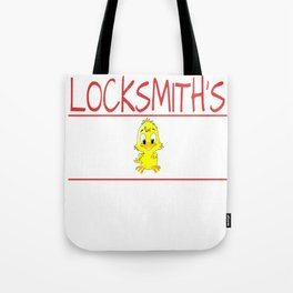 Locksmith's Chick Gift Wife Girlfriend design Tote Bag