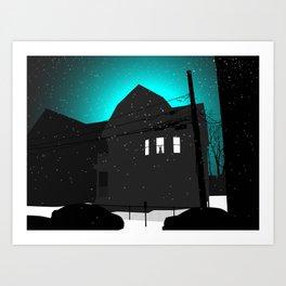 Somerville  Art Print