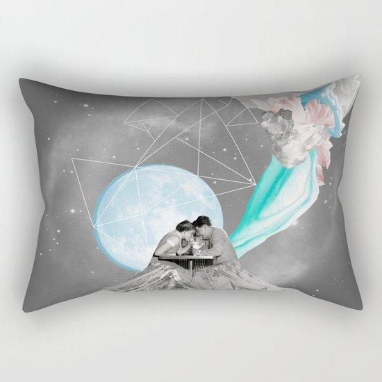 FUTURE IS BLUE Rectangular Pillow