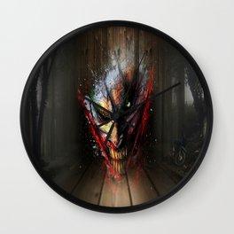 When Evil Comes Wall Clock