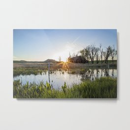 Abandoned: South Dakota 6651 Metal Print