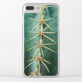 Cactus 1 Clear iPhone Case