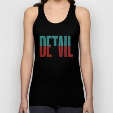 Devil in the detail. Unisex Tank Top