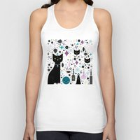 kittens Tank Tops featuring Halloween Kittens  by Carly Watts
