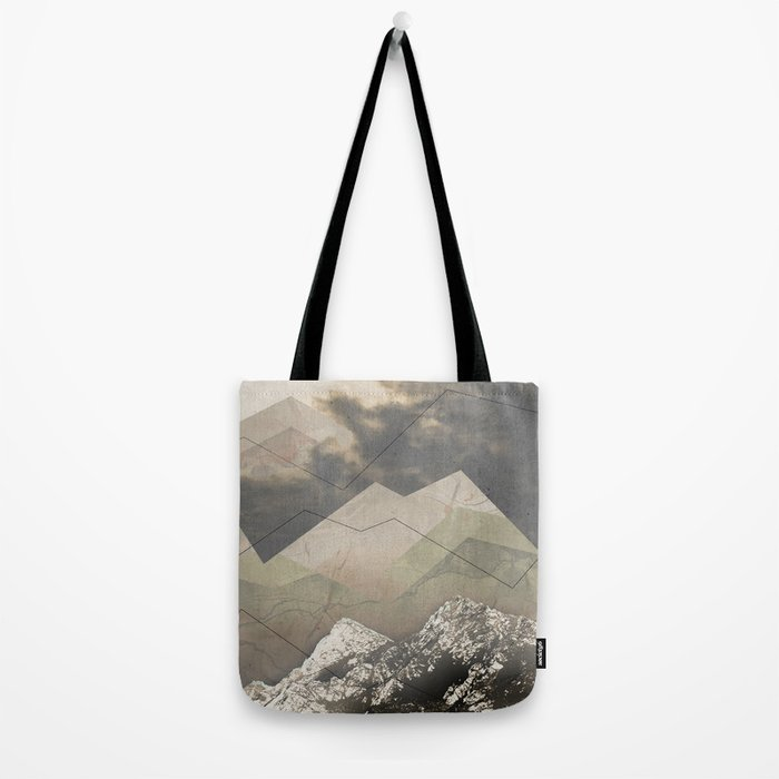 Geometric Sunrise Tote Bag