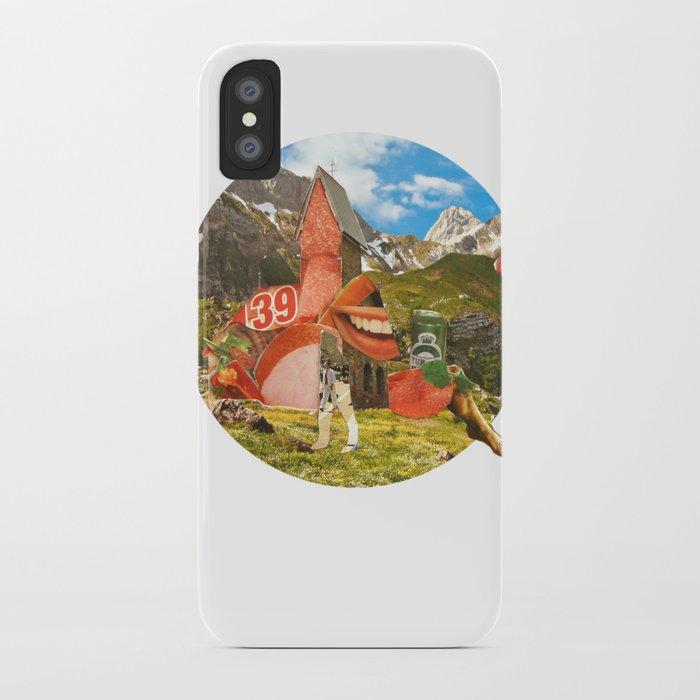 Surreala Alpina 28 · Crop Circle iPhone Case