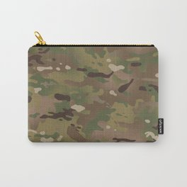 Military Woodland Camouflage Pattern Carry-All Pouch
