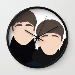 Fab Four Photoshoot Wall Clock