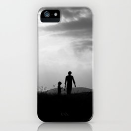 Silhouettes iPhone Case