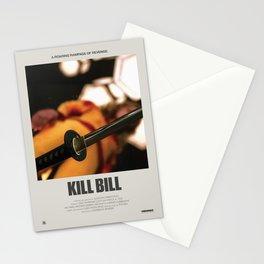 Kill Bill (2003) Minimalist Poster Stationery Cards