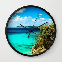 Tropical Sea Wall Clock