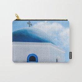 Greek Orthodox Church Oia Santorini Greece Carry-All Pouch