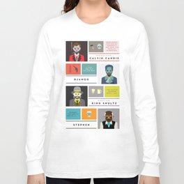 Django Unchained Character Poster Long Sleeve T-shirt