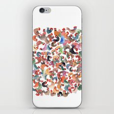 Chicken mess iPhone & iPod Skin