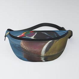 Colorful Wood Duck Fanny Pack
