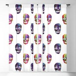 Crunchy Goulash Skull pattern by Adam Cooley Blackout Curtain