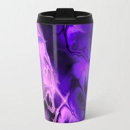 The Love For Violet Purple - Fractal Art Travel Mug