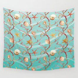 Marine Pattern 11 Wall Tapestry