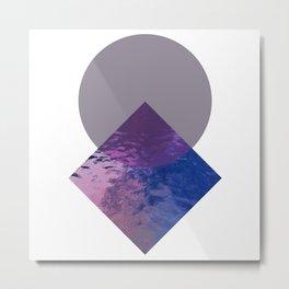 Minimalist Geometric Art Metal Print